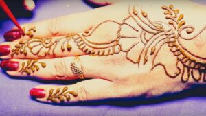Latest Arabic shade mehndi design tutorial