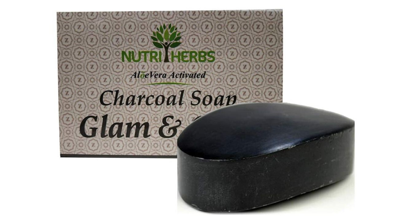 Nutriherbs Activated Charcoal Soap with AloeVera (Product Review)