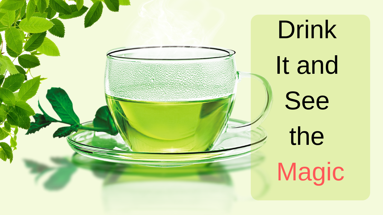 green tea bnefits for skin and hair
