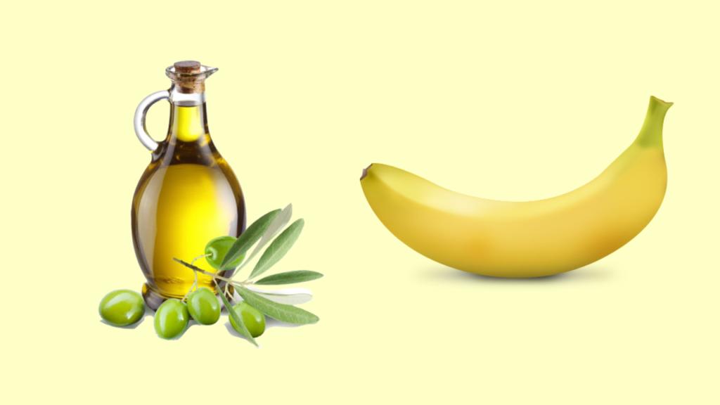 सूखी त्वचा के लिए  केला और जैतून के तेल का फेस पैक