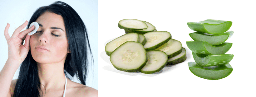 Cucumber and aloe Vera facial mist