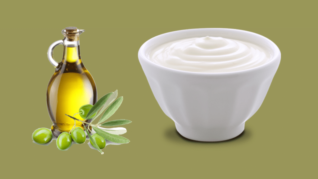 Curd face pack for wrinkles and aging