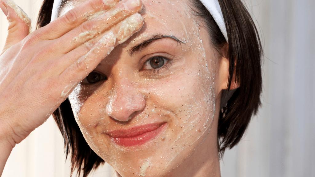 curd exfoliate your skin