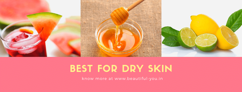 Watermelon face mask for dry skin