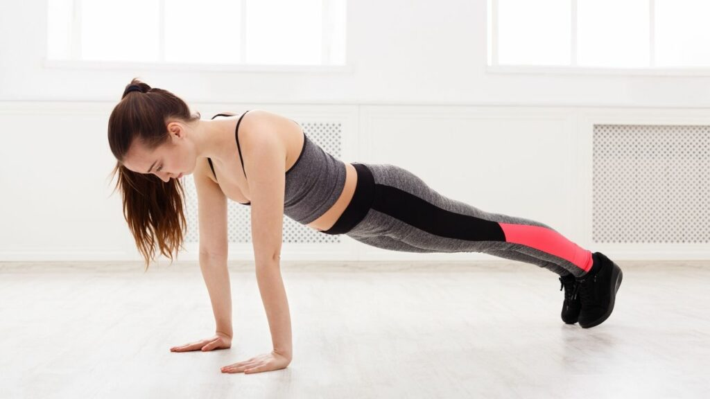 Do plank daily to get rid of belly fat